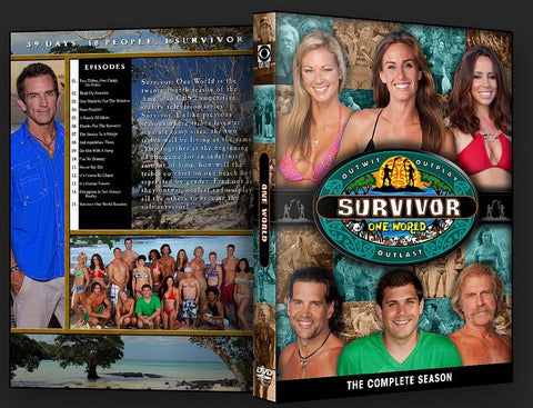 TV SURVIVOR SEASON 24 ONE WORLD 6 DVD SET