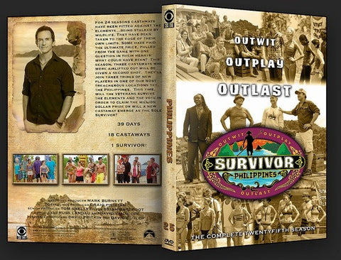 TV SURVIVOR SEASON 25 PHILIPPINES 6 DVD SET