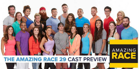 TV THE AMAZING RACE SEASON 29 COMPLETE 5 DVD SET 2017