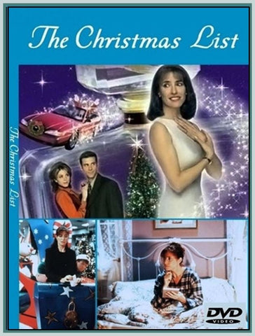The Christmas List Mimi Rogers 2020 XMAS THE CHRISTMAS LIST (MIMI ROGERS) (ROB STEWART) 1997 MOVIE DVD