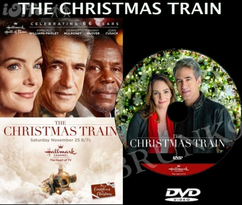 XMAS THE CHRISTMAS TRAIN MOVIE 2017 ON DVD - HALLMARK MOVIES