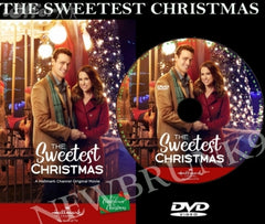 XMAS THE SWEETEST CHRISTMAS MOVIE 2017 ON DVD - HALLMARK MOVIES