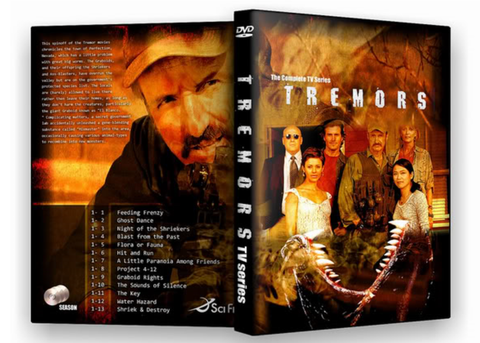 TV TREMORS TV SERIES 2 DVD set COMPLETE 13 episodes 2003