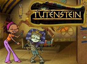 TUTENSTEIN COMPLETE 3 SEASON DVD SET + MOVIE 2003-04 VERY RARE