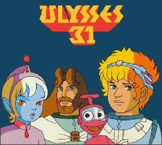 KIDS ULYSSES 31 COMPLETE 26 EPISODES DVD SET CARTOON ANIME 1981
