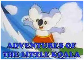 The Adventures of The Little Koala Kids Cartoon 3 DVD Set 1984-88 Very Rare