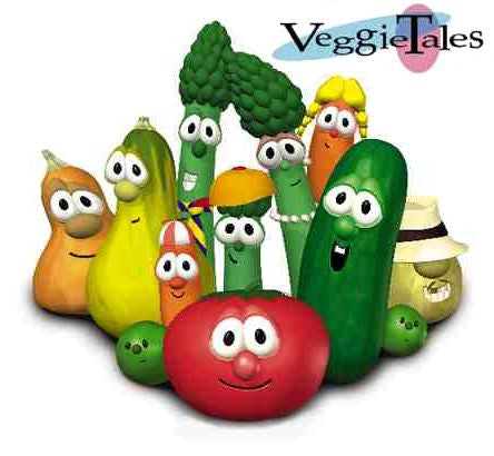 Kids Veggie Tales Complete 46 Episodes 6 DVD Set 1993-2010