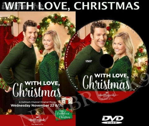 XMAS WITH LOVE, CHRISTMAS MOVIE 2017 ON DVD - HALLMARK MOVIES