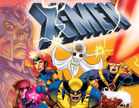 Kids X-MEN The Animated Series on 6 DVD Complete 5 Season 1992-97 Cartoon Xmen