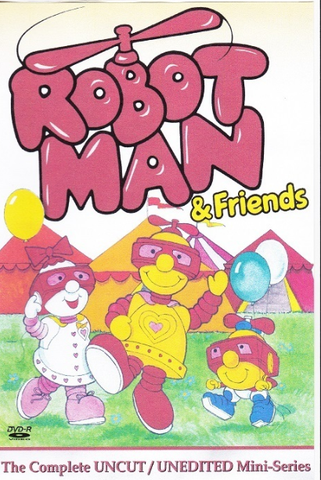 ROBOTMAN & FRIENDS COMPLETE CARTOON DVD SET 1984 EXTREMELY RARE