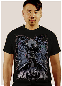 Batman Gargoyle -Black - T-Shirt