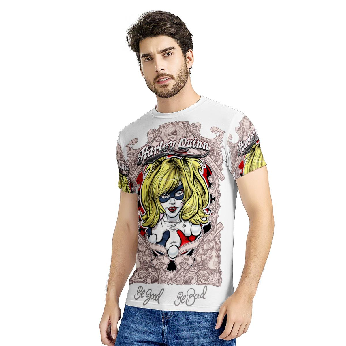 -- HA-013 -- All-Over Print T-Shirt --