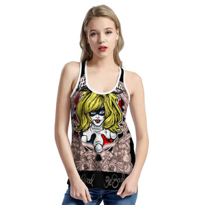 -- HA-013 -- All-Over Print Vest --