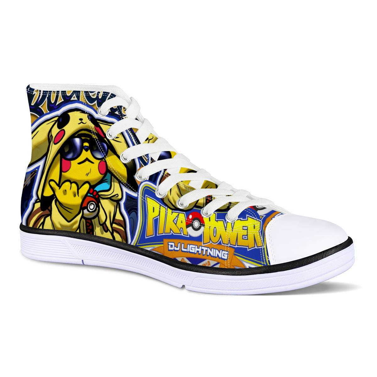Pika Power -- All-Over Canvas