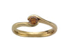 18ct Yellow Gold Sweep Cognac Diamond Ring - Andrew Scott