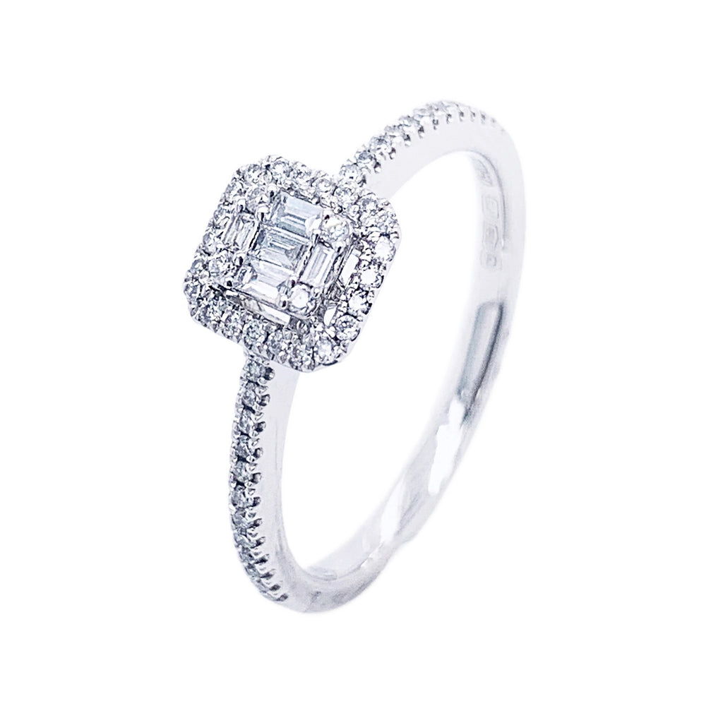 Platinum Multi Diamond Ring - Andrew Scott