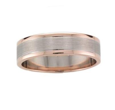 18ct White and Rose Gold Ring - Andrew Scott