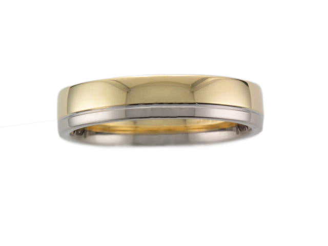 18ct Yellow and White Gold Ring - Andrew Scott