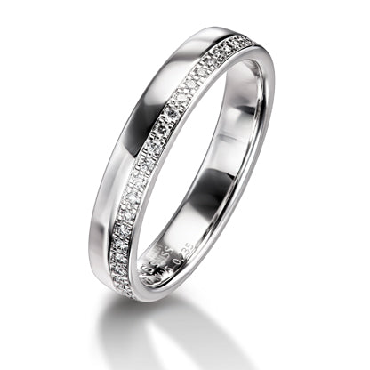 Furrer Jacot Platinum Pave-set Diamond Ring - Andrew Scott