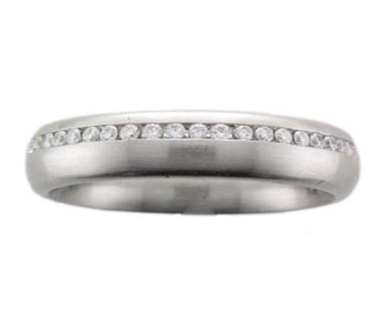 Platinum Off-set Diamond Full Eternity Ring
