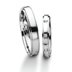Furrer Jacot 18ct White Gold Diamond Wedding Ring - Andrew Scott