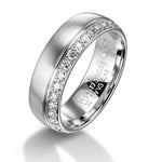 Furrer Jacot 18ct White Gold Pave-set Diamond Wedding Ring - Andrew Scott