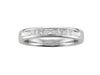 18ct White Gold Diamond Half Eternity Ring - Andrew Scott