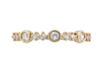 18ct Yellow Gold Diamond Half Eternity Ring - Andrew Scott