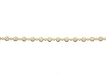 18ct Yellow Gold 55 x Diamond Bracelet - Andrew Scott