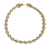 18ct Yellow Gold 55x Brilliant Cut 1.85ct G/VS Diamond Bracelet
