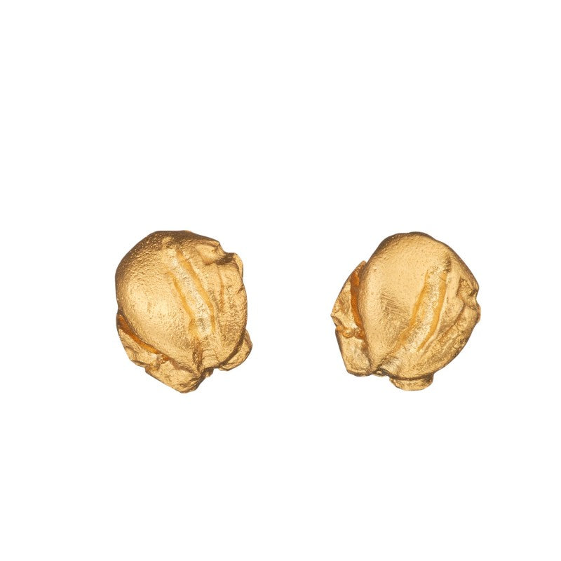 Mini Nugget 14K Earrings by Lapponia of Helsinki - Andrew Scott