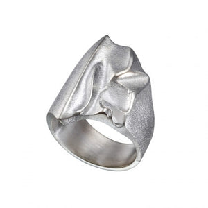 Silver Kauris Ring by Lapponia of Helsinki - Andrew Scott
