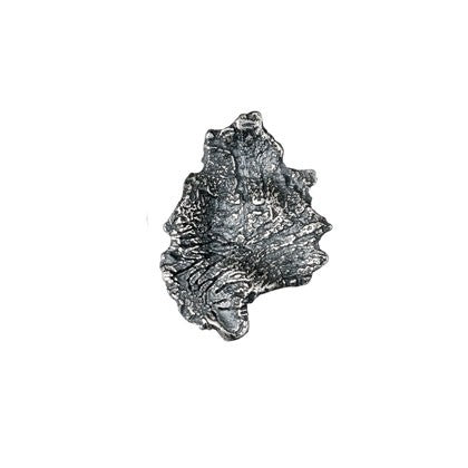 Silver Oxidised Kuu Single Earring - Andrew Scott