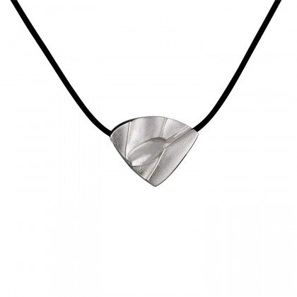 Silver Trix Silicone Necklace by Lapponia of Helskini