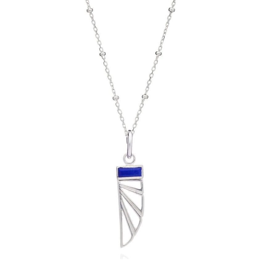 Silver Wings of Freedom Pendant & Chain - Andrew Scott