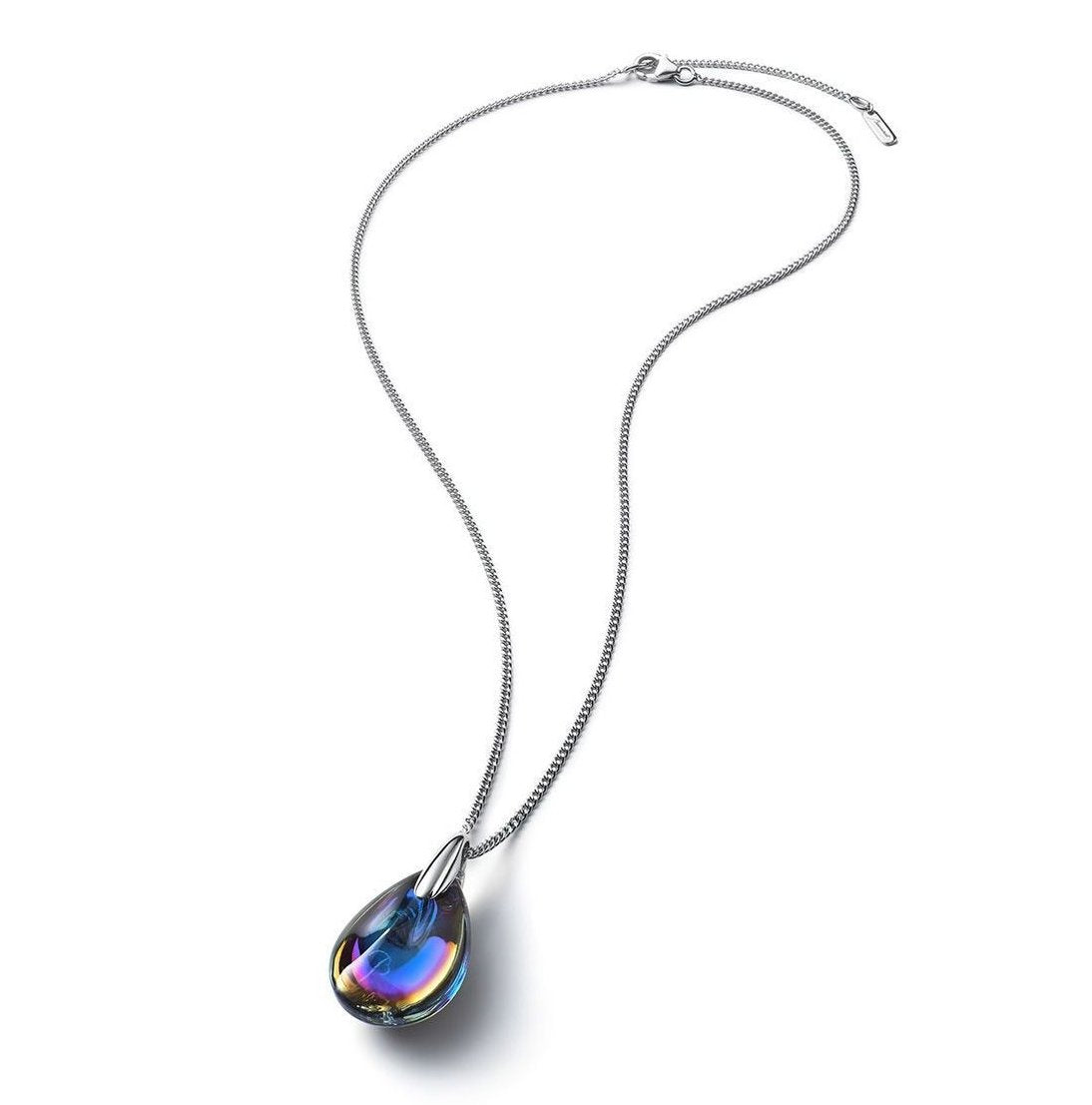 Baccarat Small Psydelic Scarabee Silver Necklace - Andrew Scott