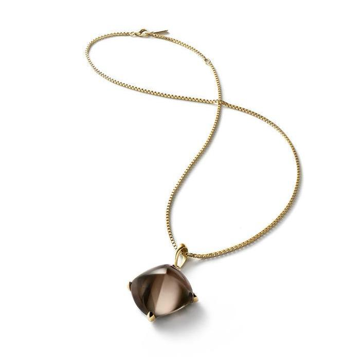 Baccarat Medicis Vermeil Brown Mordore Crystal Necklace - Andrew Scott