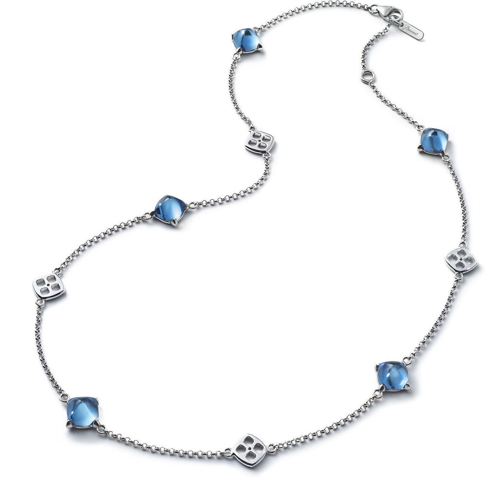 Baccarat Silver Medicis Riviera Crystal Necklace - Andrew Scott