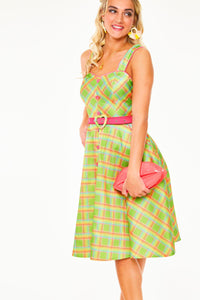 Vita Dress in Green