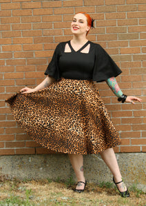 Madeline Dress in Leopard