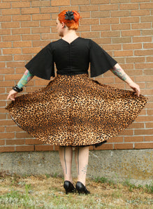 Madeline Dress in Leopard - Vivacious Vixen Apparel