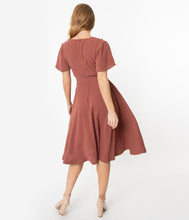 Load image into Gallery viewer, Kay Dress in Mauve