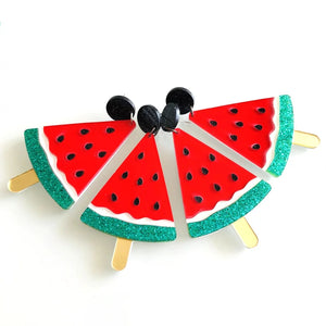 Watermelon Slice Earrings - Vivacious Vixen Apparel