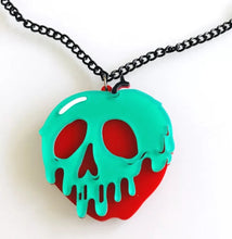 Load image into Gallery viewer, Poison Apple Necklace - Vivacious Vixen Apparel