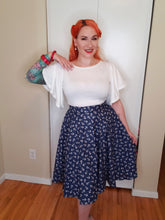Load image into Gallery viewer, Anchor Circle Skirt - Vivacious Vixen Apparel