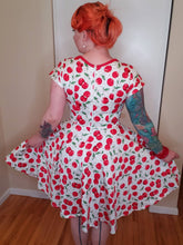 Load image into Gallery viewer, Kirby Dress in Cherry Print - Vivacious Vixen Apparel