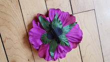Load image into Gallery viewer, Purple Peony Hair Flower - Vivacious Vixen Apparel