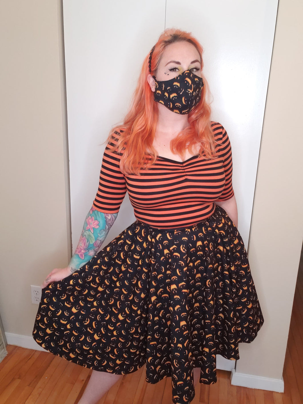 Pumpkin Queen Skirt