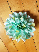 Load image into Gallery viewer, Large Blue Green Flower