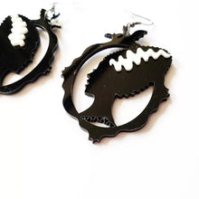 Load image into Gallery viewer, Bride of Frankenstein Earrings - Vivacious Vixen Apparel